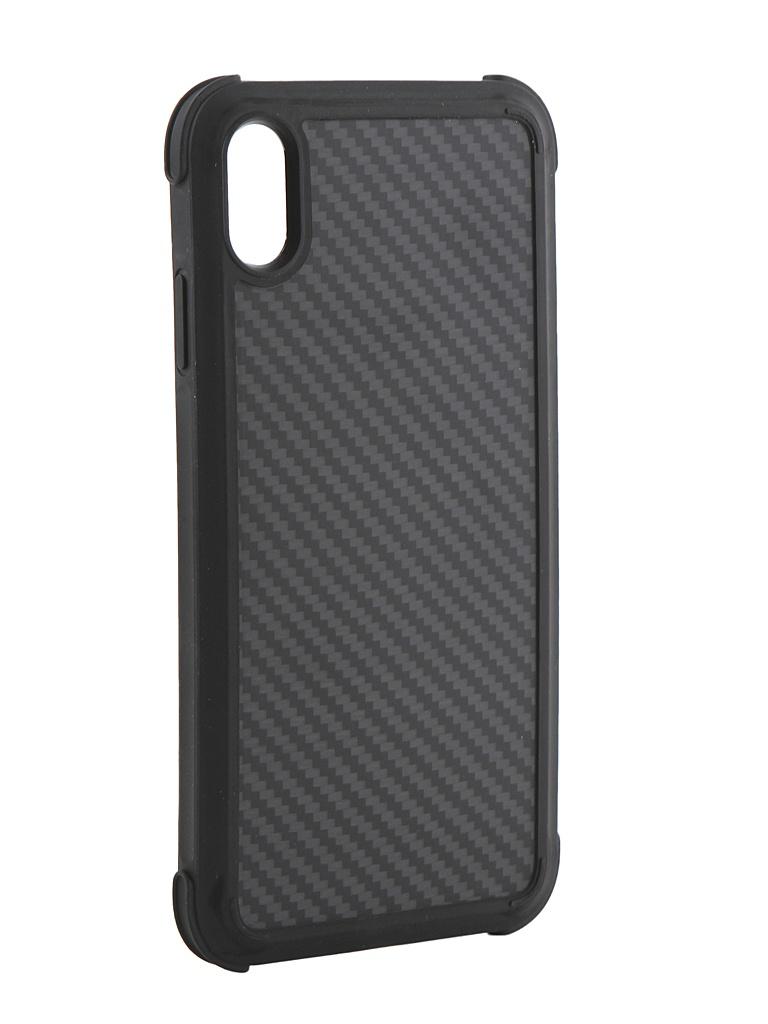 Аксессуар Чехол Pitaka для APPLE iPhone XS Max MagCase Pro Black-Grey KI9001XMP аксессуар чехол для apple iphone x pitaka aramid case black yellow twill ki8006x