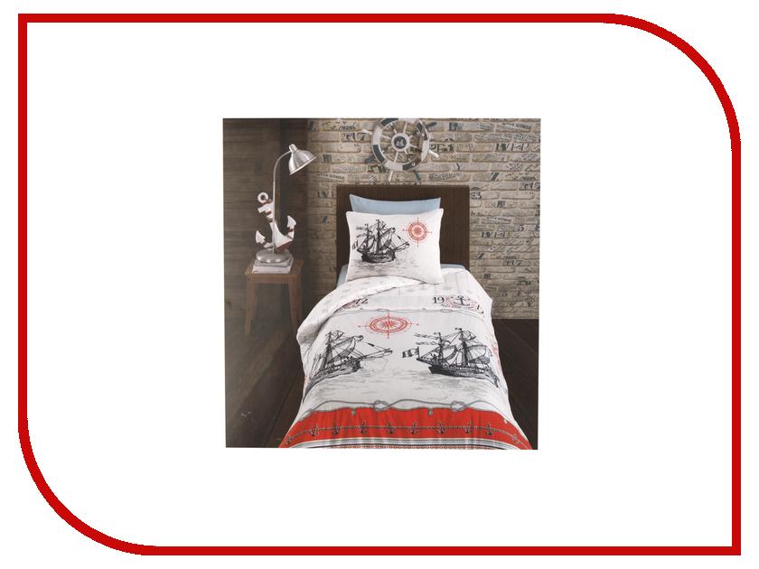 Фото - Постельное белье Arya Ранфорс Nia Комплект подростковый TRK111300020826 постельное белье этель кружева комплект 2 спальный поплин 2670978