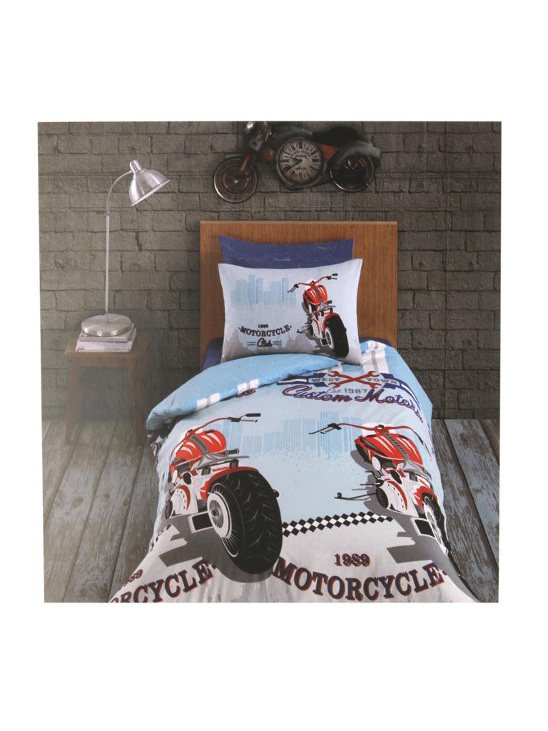 цена на Постельное белье Arya Ранфорс Racing Комплект подростковый TRK111300020827
