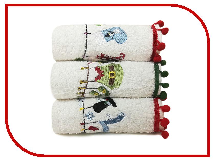 Полотенце Arya Serene комплект Рождество С Вышивкой 30х50 TRK111300020679