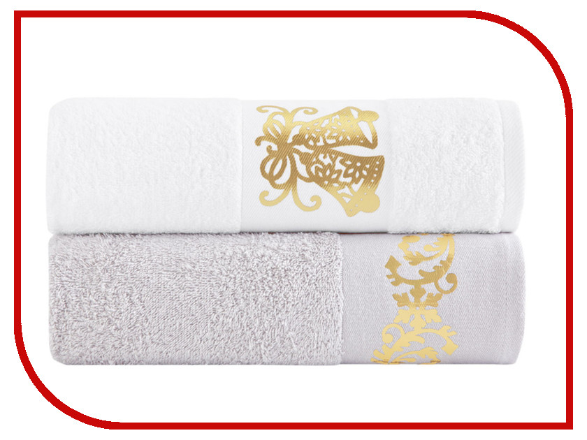 Полотенце Arya Tulos Christmas комплект 50х90 TRK111300020694 полотенца arya полотенце ace цвет розовый 50х90 см