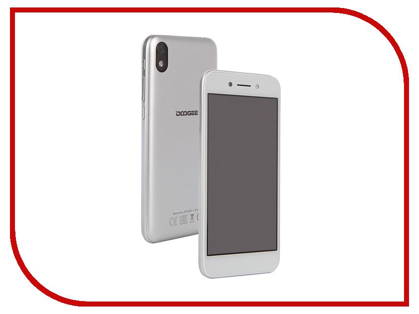 Сотовый телефон DOOGEE X11 Silver сотовый телефон doogee x55 black