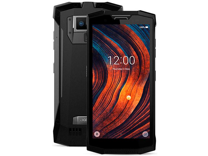 Сотовый телефон DOOGEE S80 Mineral Black смартфон doogee s80 lite fire orange
