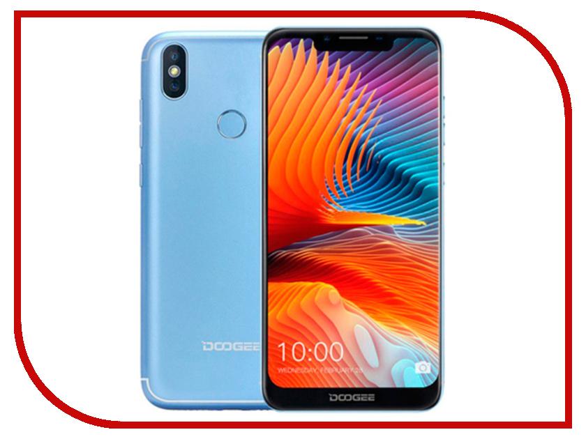 цена Сотовый телефон DOOGEE BL5500 Lite Blue