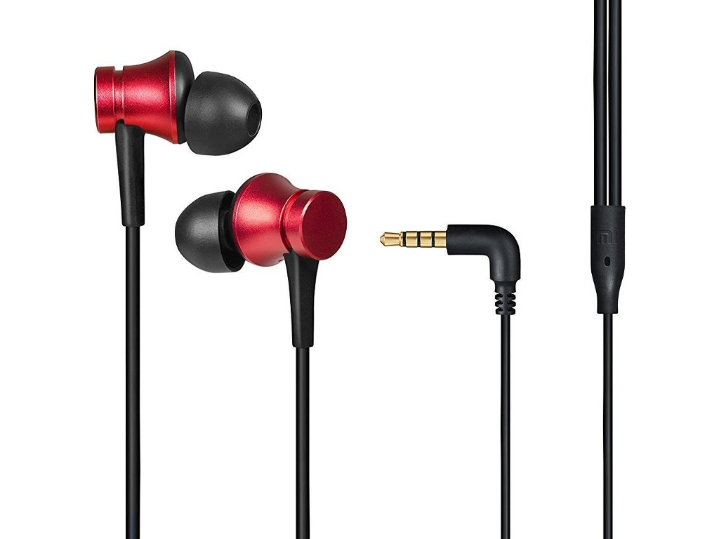 Наушники Xiaomi Mi Earphones Basic Red ZBW4442GL