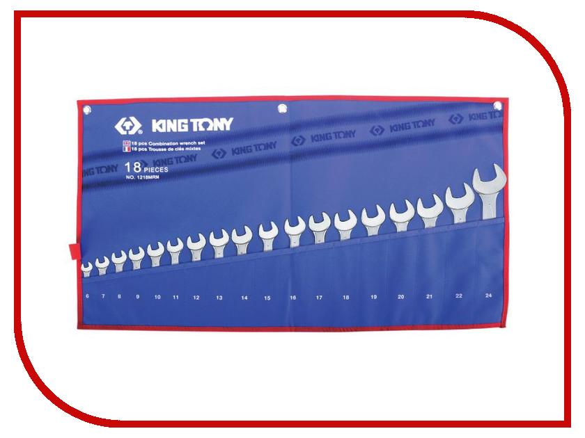Ключ KING TONY 1218MRN шестигранник дюймовый г образный 9 16 king tony 112518s