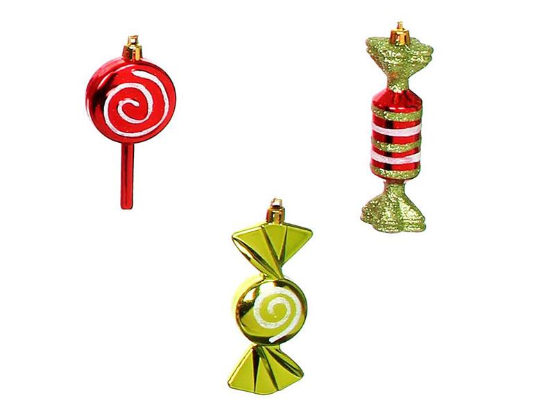 Украшение Edelman Набор игрушек Конфетка для настроения 1036790