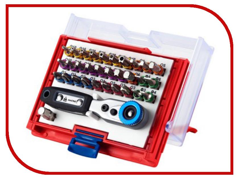 Бита МАСТАК 058-10033C набор разрезных ключей воронья лапка мастак 0261 15c
