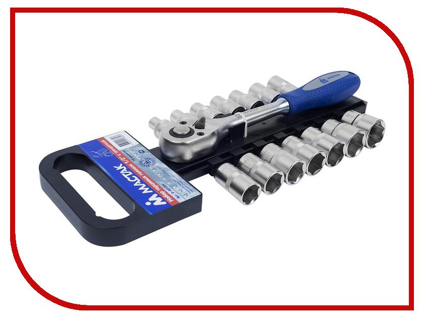 Ключ набор торцевых головок МАСТАК 0-4015H набор разрезных ключей воронья лапка мастак 0261 15c