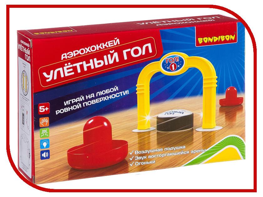 Настольная игра Bondibon Аэрохоккей Улетный гол BB2656 цена