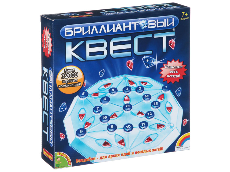 Настольная игра Bondibon Бриллиантовый квест 1993 BB1406