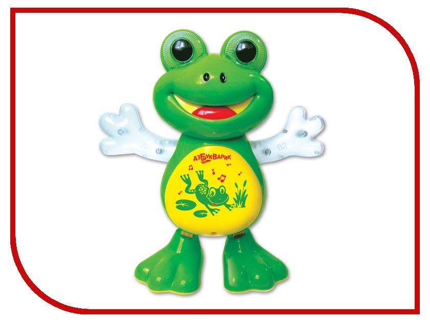 Игрушка Азбукварик Танцующая лягушка 4680019281797 азбукварик азбукварик джунгли серия веселые голоса