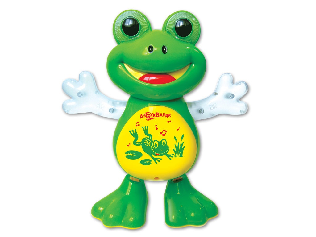 Игрушка Азбукварик Танцующая лягушка 4680019281797