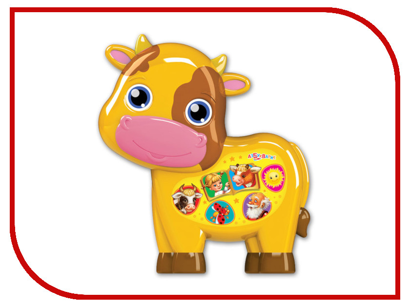 Купить Игрушка Азбукварик Бычок - смоляной бочок 4680019281841