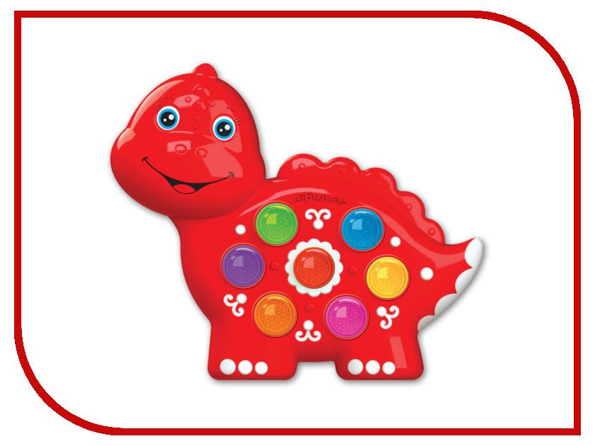 Игрушка Азбукварик Веселушки Динозаврик 4680019282640 звуковой плакат азбукварик динозаврик чудо огоньки 4680019282121