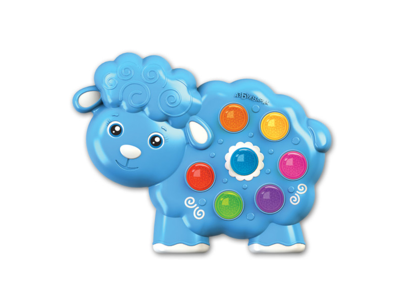 Игрушка Азбукварик Веселушки Овечка 4630027290250 обучающие азбукварик развивающая игрушка азбукварик веселушки лошадка