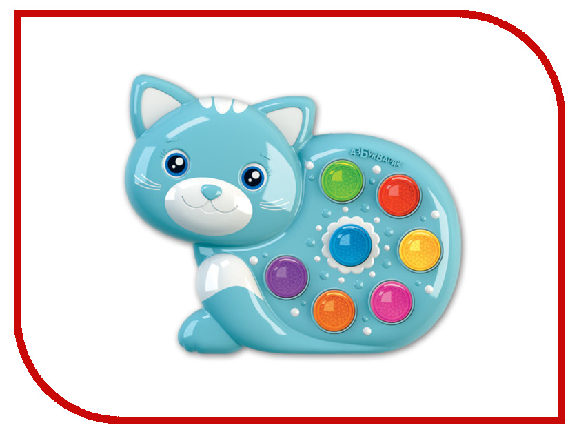 Купить Игрушка Азбукварик Веселушки Котёнок 4630027290236