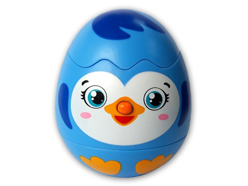 Игрушка Азбукварик Яйцо-сюрприз Пингвинчик 4680019282145