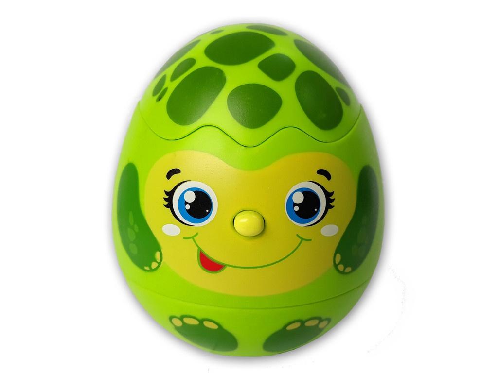 Игрушка Азбукварик Яйцо-сюрприз Черепашка 4680019282152