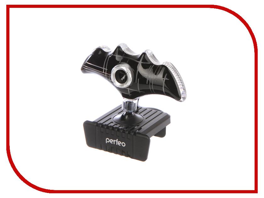 Вебкамера Perfeo Bat Black PF_A4034 black v neck bat sleeves loose fit top