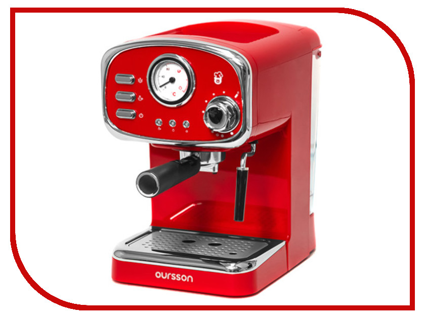 Кофемашина Oursson EM1505/RD Red блендер oursson hb4040 rd