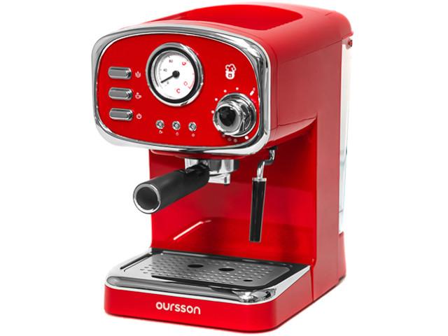 Кофемашина Oursson EM1505/RD Red