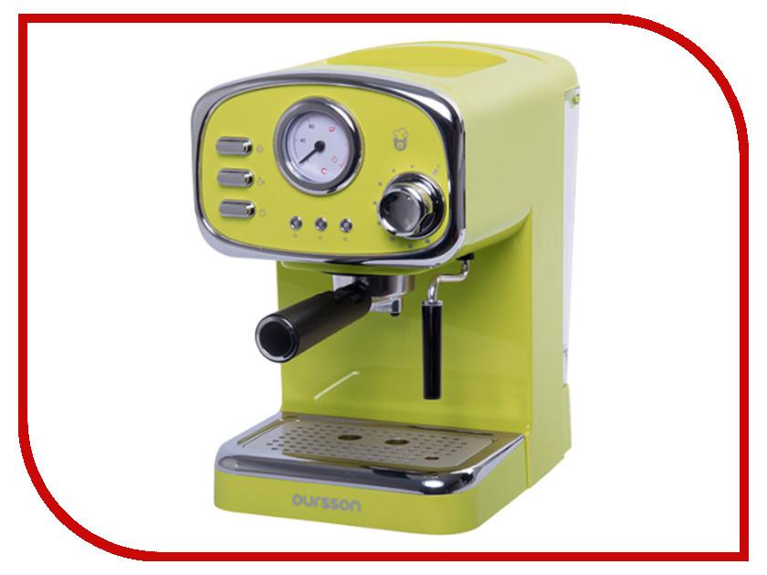 Кофемашина Oursson EM1505/GA Green цены онлайн
