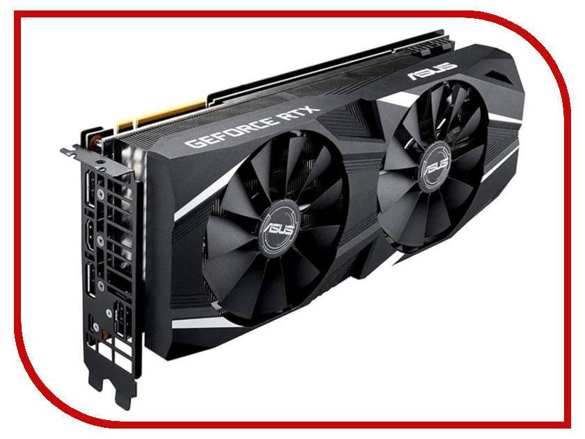 Видеокарта ASUS GeForce RTX 2070 OC 1410Mhz PCI-E 3.0 8192Mb 14000Mhz 256 bit Display Port HDMI HDCP DUAL-RTX2070-O8G pci e to