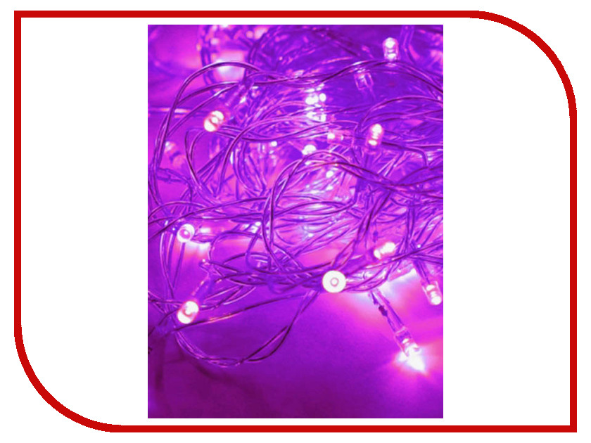 Гирлянда Космос Экономик Сетка 50 LED Violet KOC_GIR50LED_V 10w 12w ultra violet uv 365nm 380nm 395nm high power led emitting diode on 20mm cooper star pcb