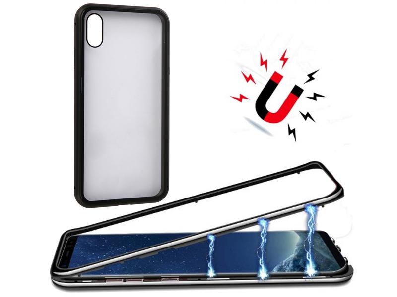 Аксессуар Чехол 360 Strong Magnetic для APPLE iPhone XS Max Black 90221 аксессуар чехол для apple iphone 7 8 plus 360 strong magnetic silver 90216