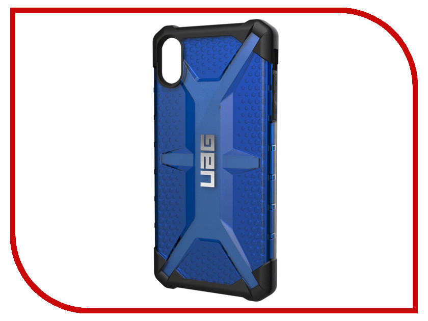 Аксессуар Чехол для iPhone XS Max UAG Plasma Blue 111103115050 motorcycle racing sport full enduro body armor spine chest protective gear motocross accessories protector jacket fit for buell all model year