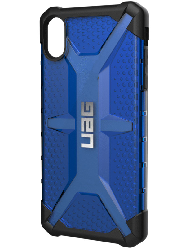 Аксессуар Чехол UAG для iPhone XS Max Plasma Blue 111103115050 цена