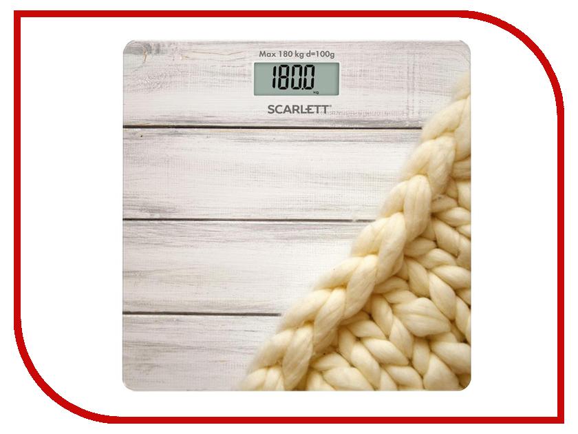 Весы напольные Scarlett SC-BS33E089 весы напольные scarlett sc bs33e086