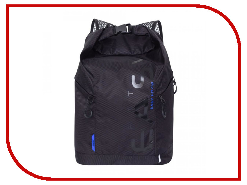 Рюкзак Grizzly RQ-918-1/3 Black-Blue