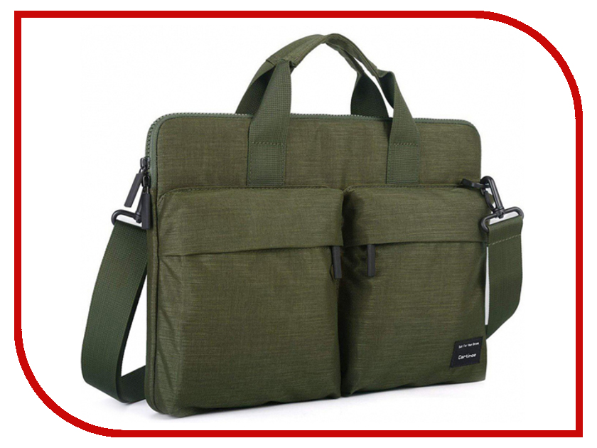 Аксессуар Сумка 15-inch Cartinoe Nylon Water Series для Macbook 15 Green 906896 2017 new handbag for laptop 11 13 15 15 6 inch for macbook notobook bag 13 3 15 4 sleeve case wholesales free drop shipping