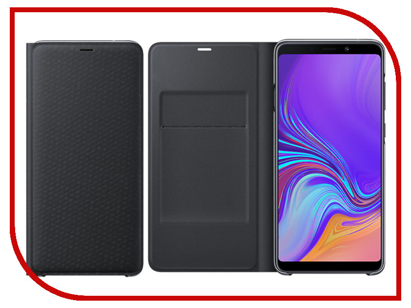 Аксессуар Чехол Samsung Galaxy A9 A920 Wallet Cover Black EF-WA920PBEGRU аксессуар чехол samsung galaxy s8 plus silicone cover purple ef pg955tvegru