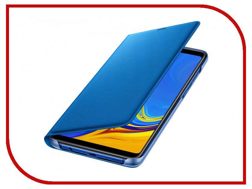 Аксессуар Чехол Samsung Galaxy A9 A920 Wallet Cover Blue EF-WA920PLEGRU аксессуар чехол samsung galaxy j5 2017 sm j530 wallet cover ligth blue sam ef wj530clegru