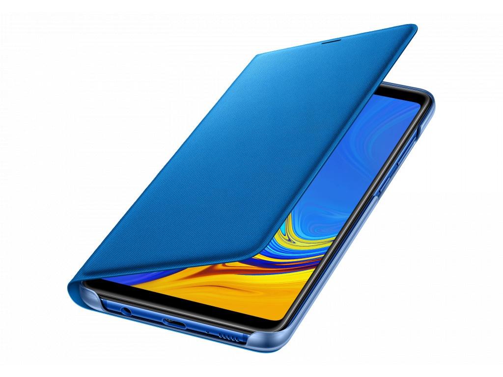 Аксессуар Чехол Samsung Galaxy A9 A920 Wallet Cover Blue EF-WA920PLEGRU аксессуар чехол книжка для samsung galaxy a9 2018 a920 gurdini premium с силиконом на магните champagne 907592