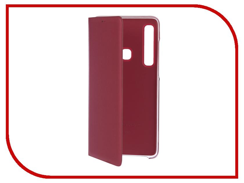 Аксессуар Чехол Samsung Galaxy A9 A920 Wallet Cover Pink EF-WA920PPEGRU samsung ef wa510pzegru для galaxy a5 2016 flip wallet pink gold