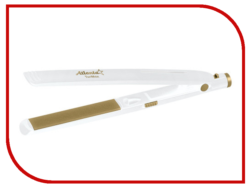 Стайлер Atlanta ATH-6740 White стайлер atlanta ath 6651 black red
