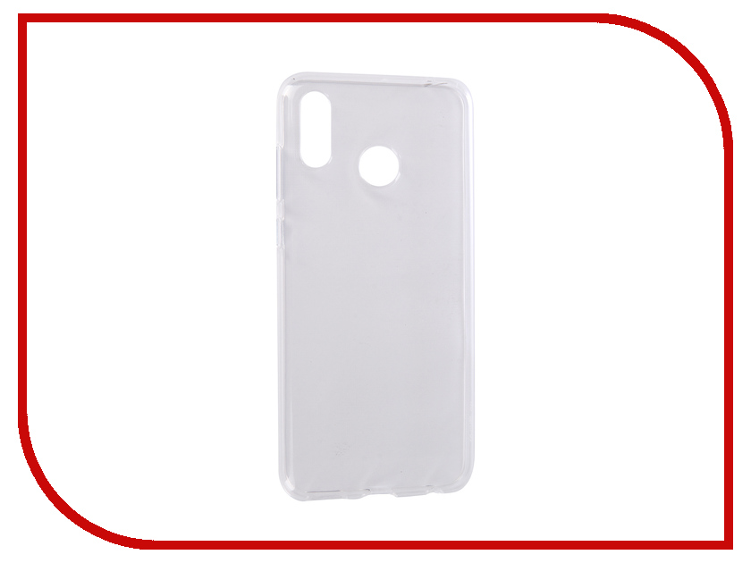 Аксессуар Чехол для Huawei Honor Play Svekla Silicone Transparent SV-HWHPLAY-WH аксессуар чехол для huawei honor nova gecko silicone glowing white s g sv huawnova wh