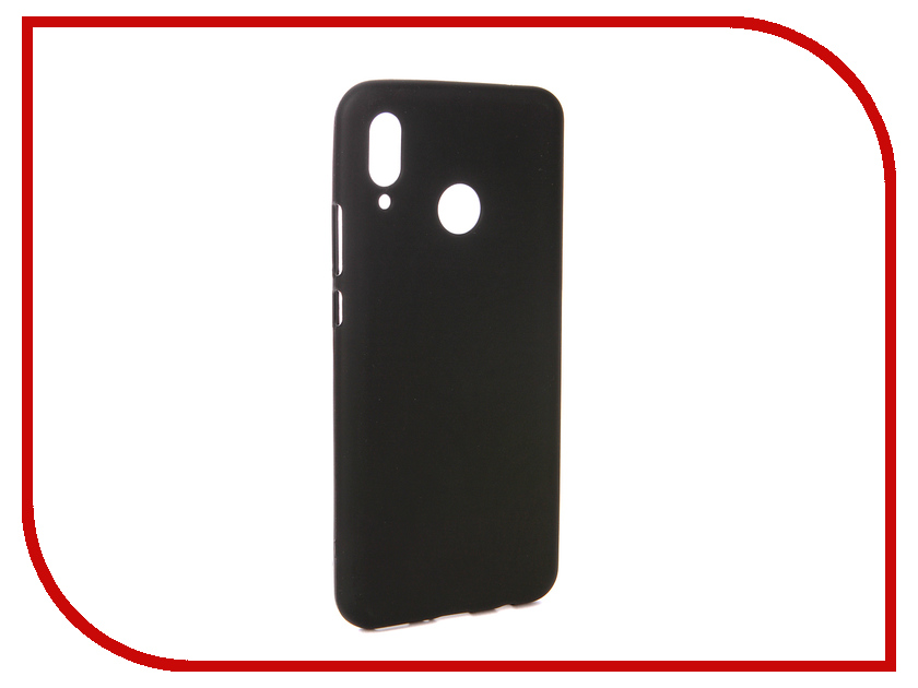 Аксессуар Чехол для Huawei Nova 3 Svekla Silicone Black SV-HWNOVA3-MBL аксессуар чехол для huawei p20 pro svekla black sv hwhp20p mbl