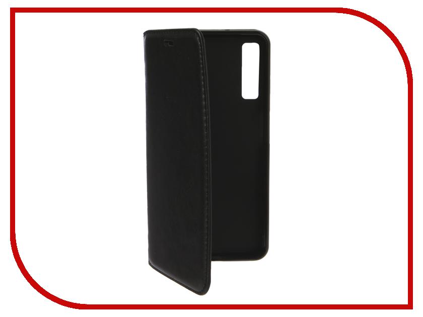 Аксессуар Чехол для Samsung Galaxy A7 2018 A750 Gurdini Premium Silicone Black 907479