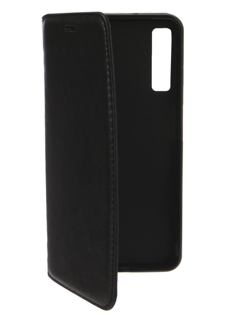 Аксессуар Чехол Gurdini для Samsung Galaxy A7 2018 A750 Premium Silicone Black 907479 аксессуар чехол книжка для samsung galaxy a9 2018 a920 gurdini premium с силиконом на магните champagne 907592