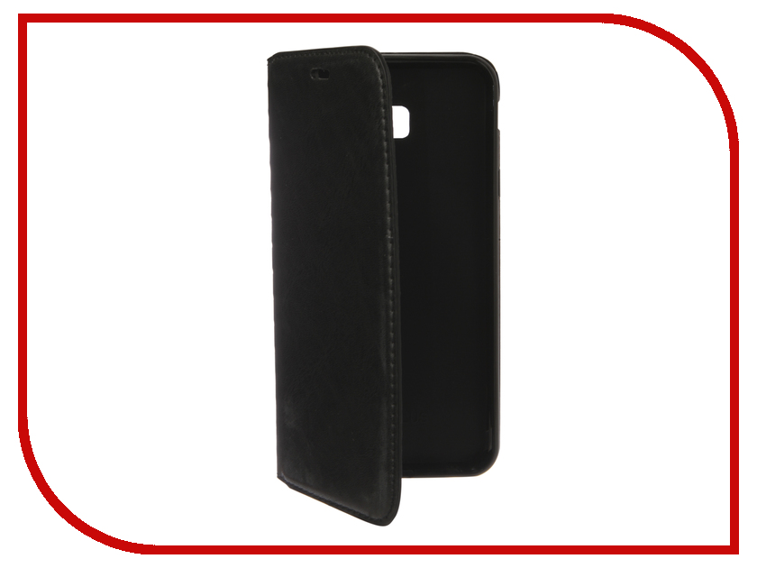 Аксессуар Чехол для Samsung Galaxy J4 Plus 2018 J415 Gurdini Premium Silicone Black 907481 аксессуар чехол samsung j3 2017 j330f zibelino clear view black zcv sam j330 blk