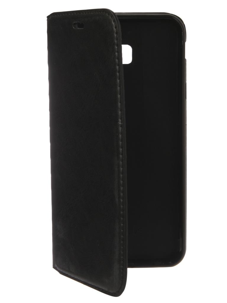 Аксессуар Чехол Gurdini для Samsung Galaxy J4 Plus 2018 J415 Premium Silicone Black 907481 аксессуар чехол книжка для samsung galaxy a9 2018 a920 gurdini premium с силиконом на магните champagne 907592