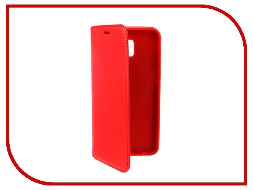 Аксессуар Чехол для Samsung Galaxy J6 Plus 2018 J610 Gurdini Premium Silicone Red 907609 аксессуар чехол для samsung galaxy a8 plus 2018 gurdini soft touch silicone black 905724
