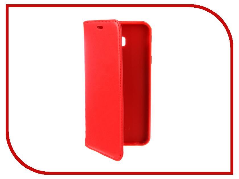 Аксессуар Чехол для Samsung Galaxy J4 Plus 2018 J415 Gurdini Premium Silicone Red 907607 аксессуар чехол для samsung galaxy a8 plus 2018 gurdini soft touch silicone black 905724