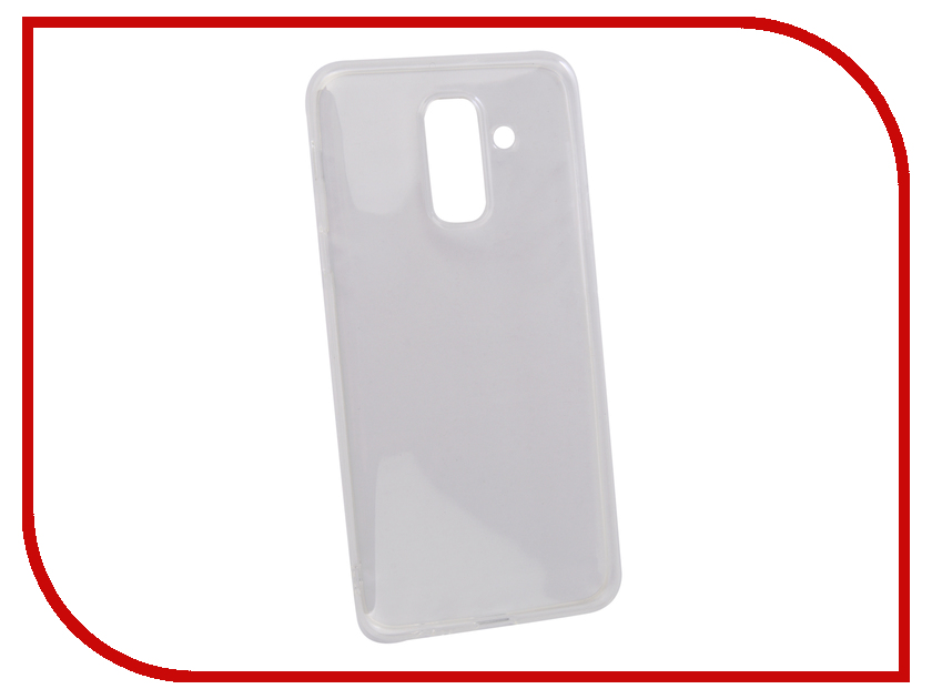 Аксессуар Чехол для Samsung Galaxy A6 Plus 2018 Gurdini High-tech Silicone Transparent 906799 lucky john mk 1