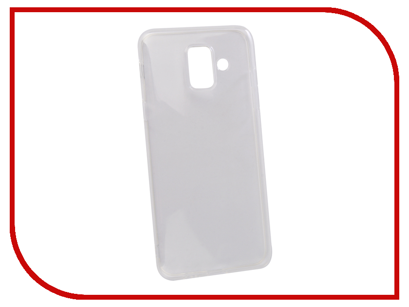Аксессуар Чехол для Samsung Galaxy A6 2018 Gurdini High-tech Silicone Transparent 906798